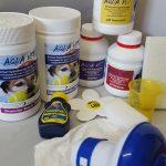 Sanitising and Balancing products